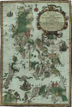 Click here to enlarge the image Mapa de las Islas Filipinas. Pedro Murillo Velarde. 1734