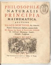 Click here to enlarge the image Isaac Newton. Philosophia Naturalis Principia Mathematica. 1739.