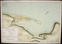 Click here to enlarge the image Plano del puerto de Huyti. 1787